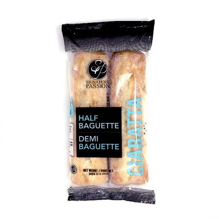 Demi-Baguettes Ciabatta
