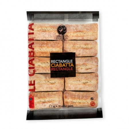 Rectangle Ciabatta (10 pack)